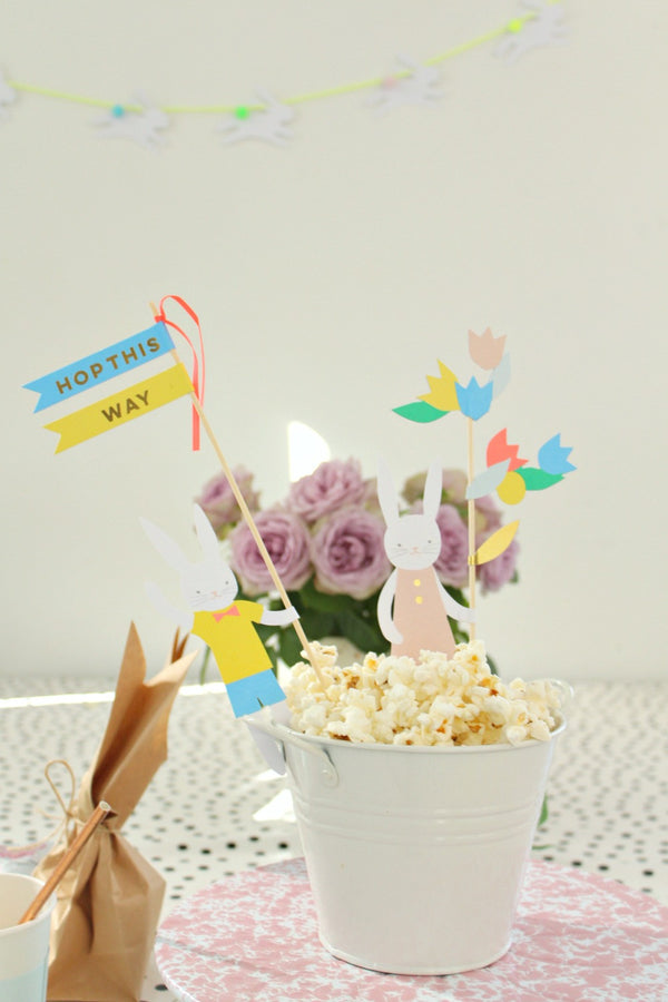 Easter Cake Topper - Pop Roc Parties