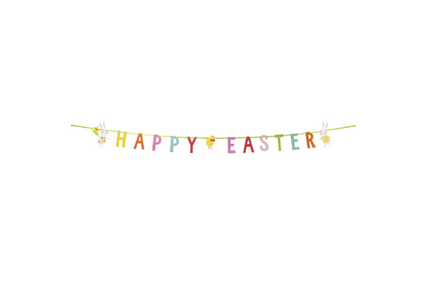 Hop To It Easter Garland - Pop Roc Parties