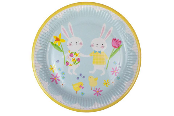 Hop to It Easter Plates - Pop Roc Parties