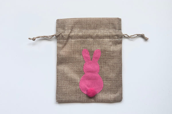 Easter Bunny Drawstring Bags - Pink | Pop Roc Parties