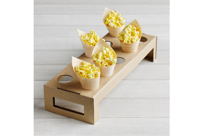 Eco Chic Cardboard Cone Tray - Pop Roc Parties