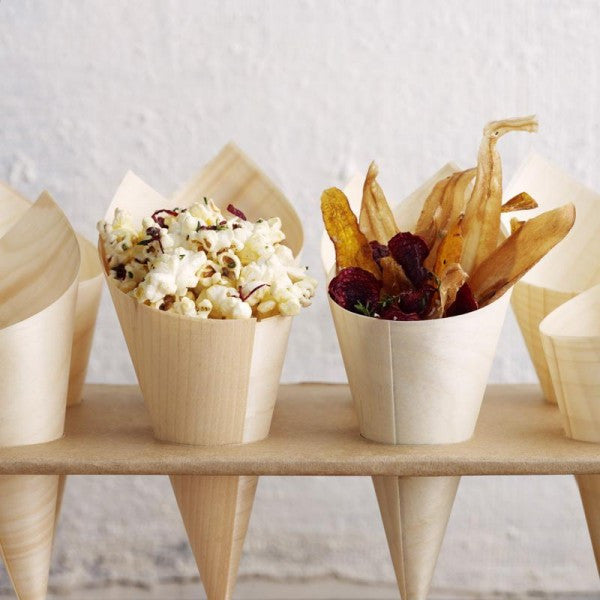 Eco Chic Cardboard Cone Tray | Pop Roc Parties