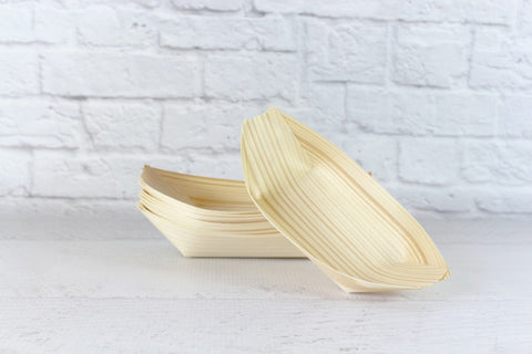 Eco Chic Boat Dishes