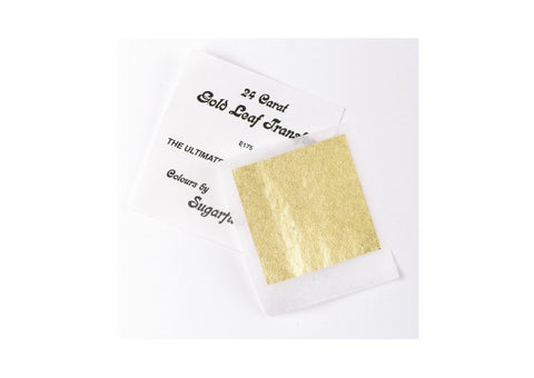 24 Carat Edible Gold Leaf