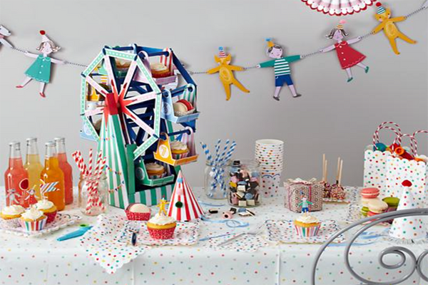 Ferris Wheel Centrepiece - Pop Roc Parties