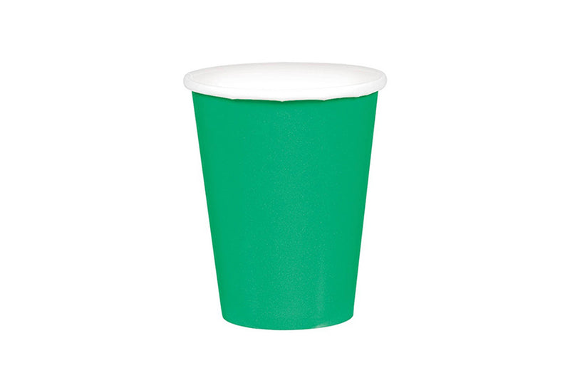 Green Paper Cups | Pop Roc Parties