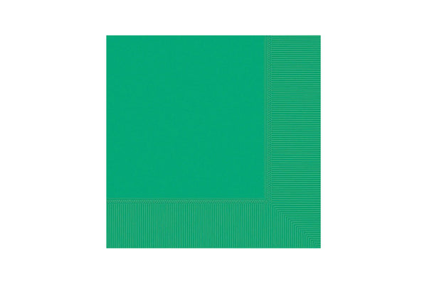 Green Beverage Paper Napkins | Pop Roc Parties