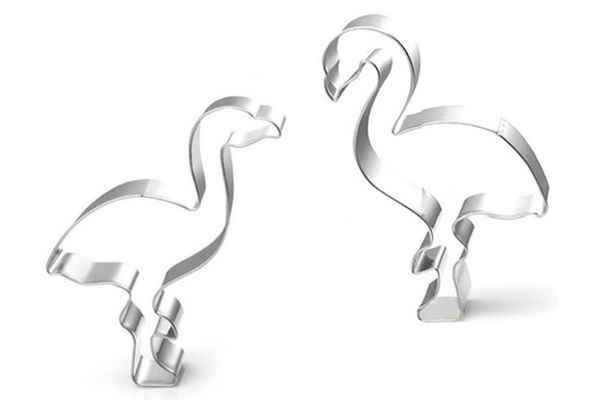 Flamingo Cookie Cutters - Pop Roc Parties