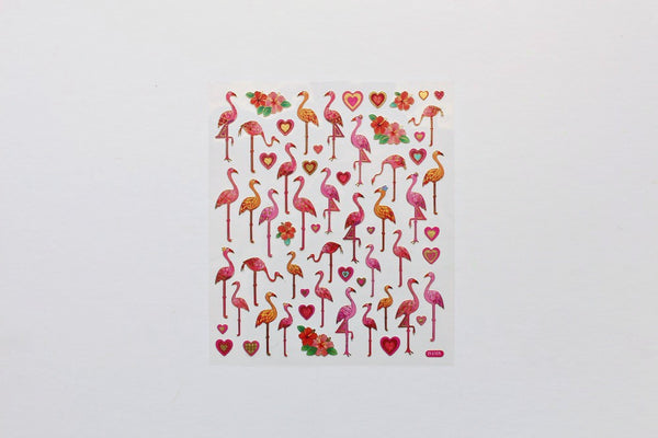 Flamingo Stickers - Pop Roc Parties