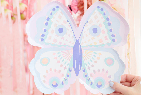 Flutter Butterfly Plates | Pop Roc Parties