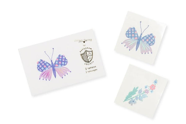 Flutter Butterfly Temporary Tattoos | Pop Roc Parties