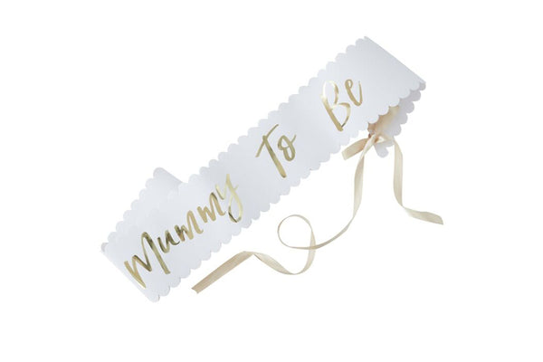 Oh Baby! 'Mummy to Be' Sash | Pop Roc Parties