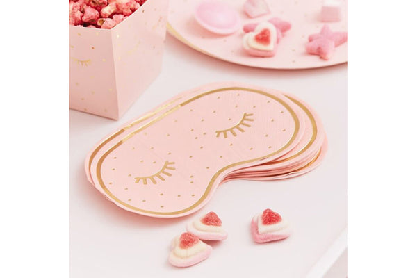 Pamper Party Eye Mask Napkins | Pop Roc Parties