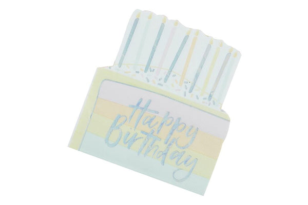 Pastel Party Cake Napkins | Pop Roc Parties