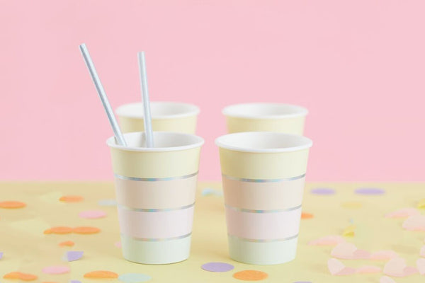 Pastel Party Paper Cups | Pop Roc Parties