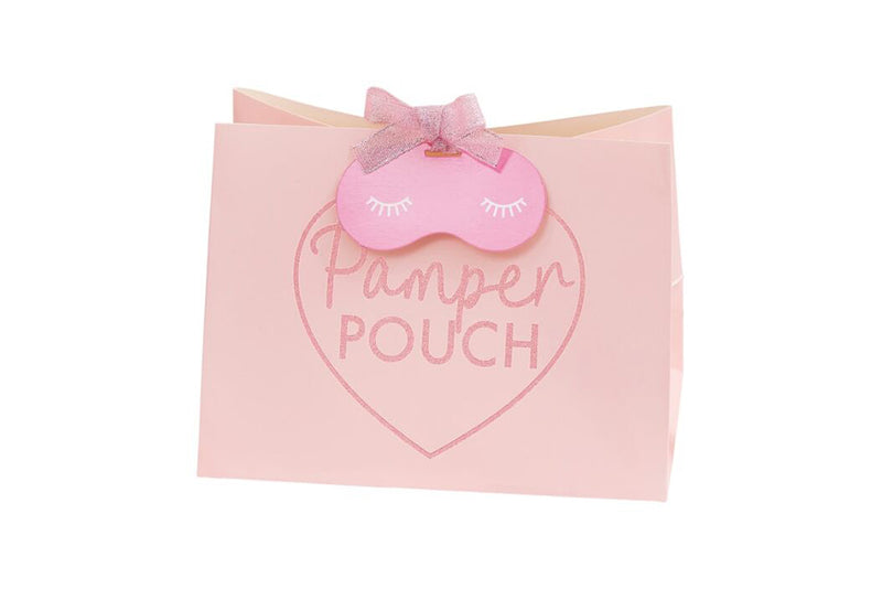 Pamper Party Pink Glitter Pamper Pouch | Pop Roc Parties