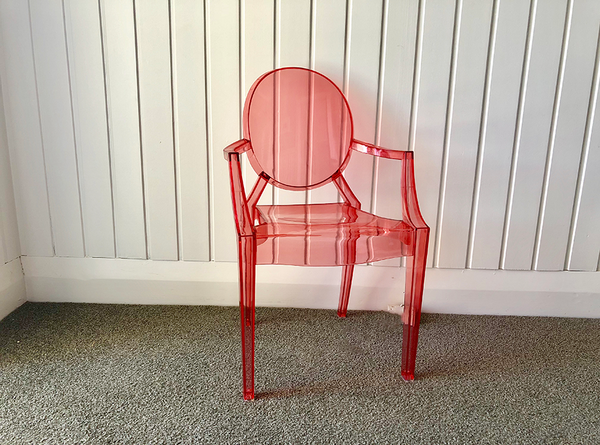 Red Ghost Chair | Pop Roc Parties