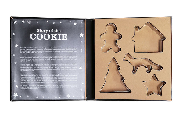 Gingerbread Man Cookie Cutter Boxed Set | Pop Roc Parties