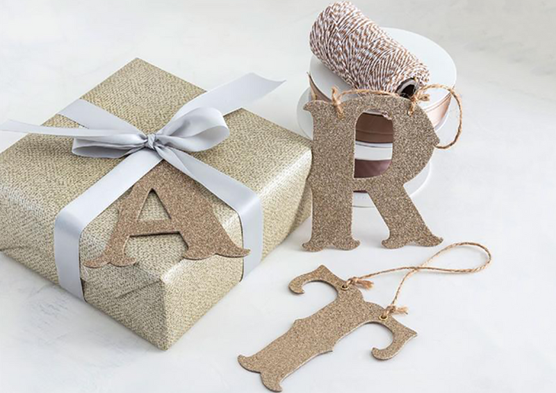Gold Glitter Letters | Pop Roc Parties