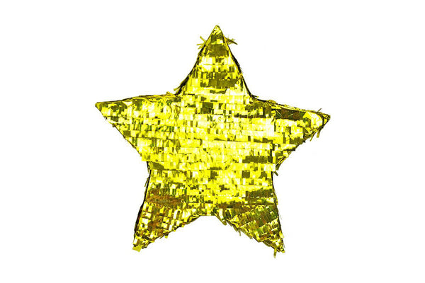 Gold Star Pinata