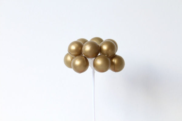 Gold Balloon Cake Topper | Pop Roc Parties