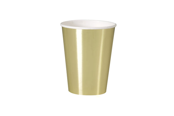 Gold Foil Cups | Pop Roc Parties