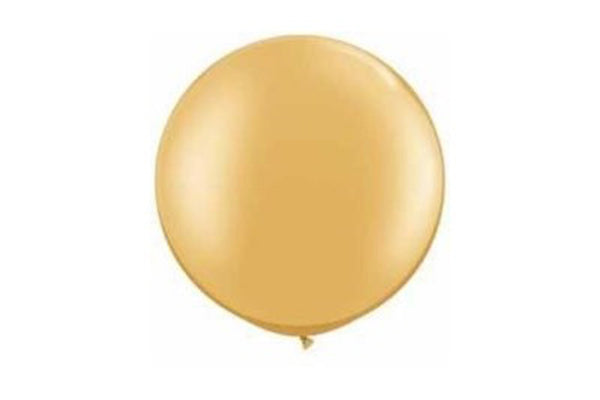 Gold Jumbo Balloon - 90cm | Pop Roc Parties