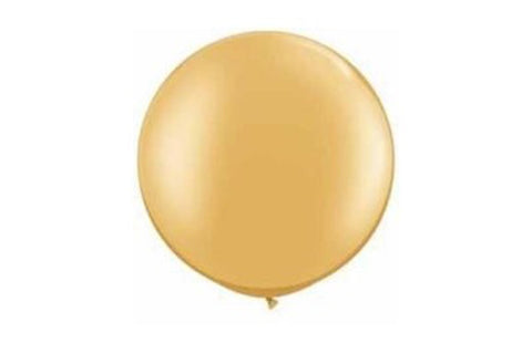 Gold Jumbo Balloons - Pop Roc Parties