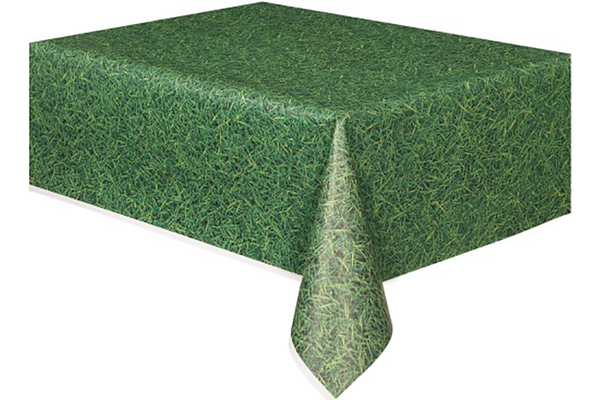 Green Grass Table Cover - Pop Roc Parties