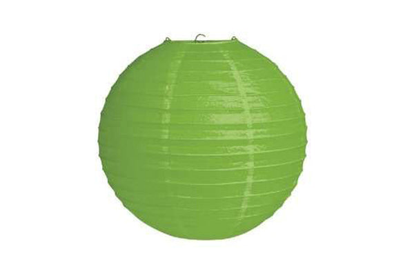 Green Large Paper Lanterns - Pop Roc Parties