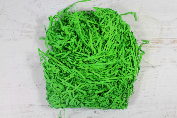 Green Shredded Paper - Pop Roc Parties