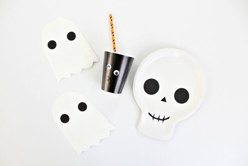 Halloween Bat Paper Straws | Pop Roc Parties