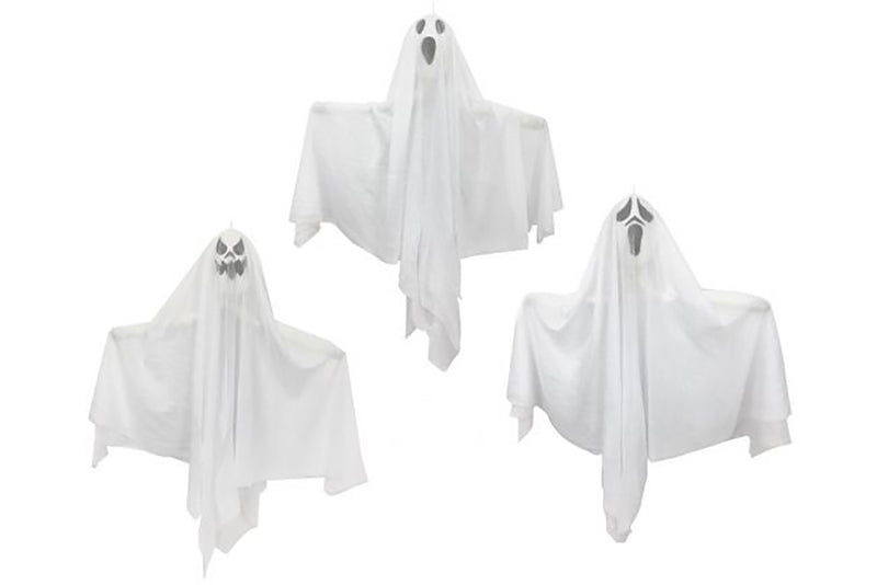 Hanging Ghost Decoration - 53cm | Pop Roc Parties