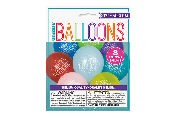 Happy Birthday Balloon Pack | Pop Roc Parties