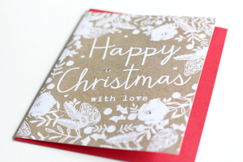 Kraft 'Happy Christmas' with Love Card - Pop Roc Parties