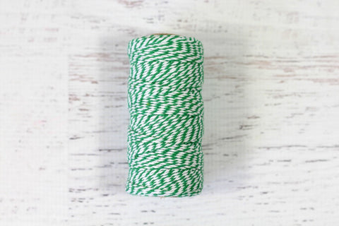Herb Green 12 Ply Bakers Twine Roll