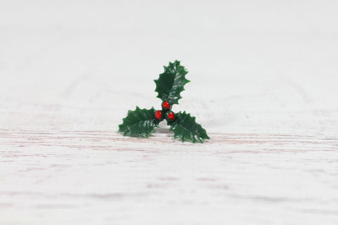 Christmas Holly Topper