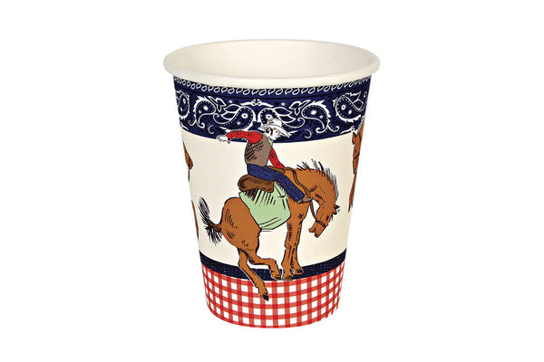 Howdy Cowboy Party Cups - Pop Roc Parties