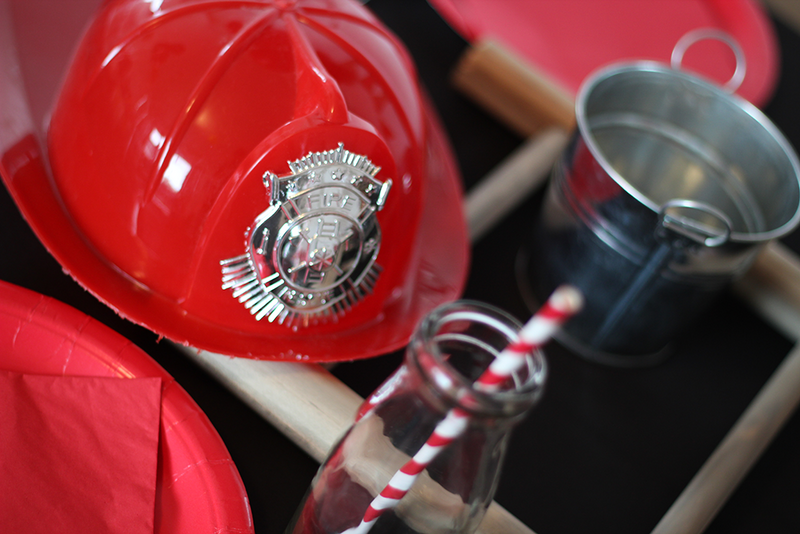 Vintage Fire Fighter Partybox - Pop Roc Parties