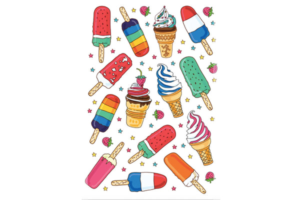 Ice Creams Temporary Tattoos | Pop Roc Parties