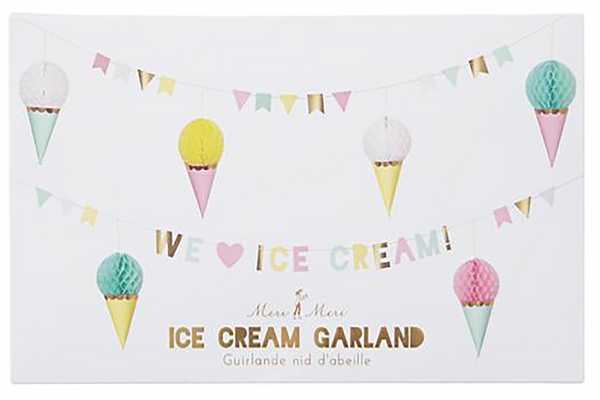 Ice Cream Garland | Pop Roc Parties