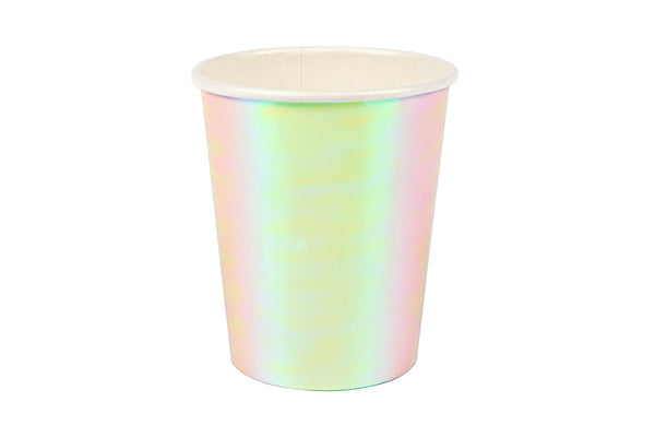 Iridescent Party Cups - Pop Roc Parties