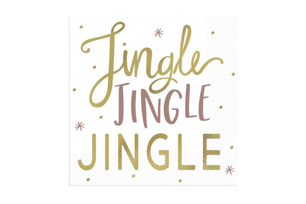 Jingle Jingle Beverage Napkins | Pop Roc Parties