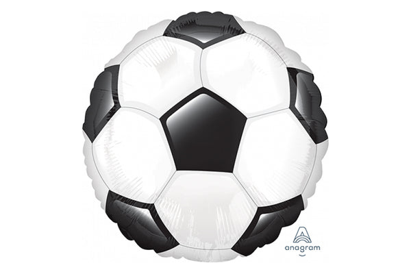Large Soccer Ball Foil Balloon | Pop Roc Parties