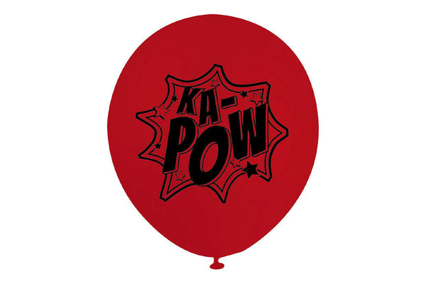 KA-POW Superhero Balloon | Pop Roc Parties