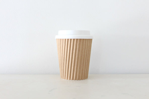 Kraft Ripple Paper Cups - Pop Roc Parties