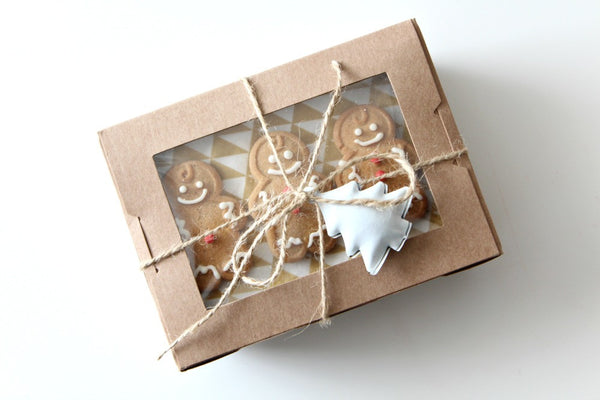 Kraft Mini Window Favour Boxes | Pop Roc Parties