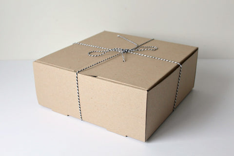 Large Kraft Cake Box Set