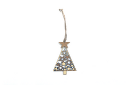 Christmas Tree Decoration - Wooden | Pop Roc Parties