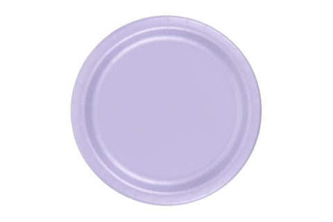 Lavender Small Paper Plates